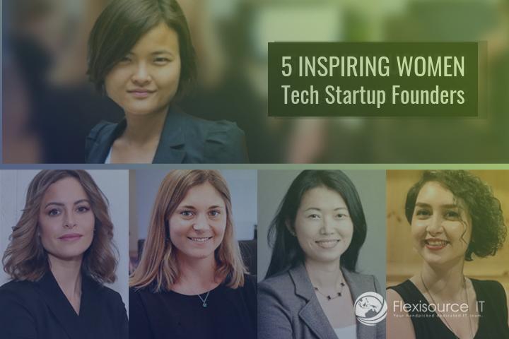 5 Inspiring Women Tech Startup Founders