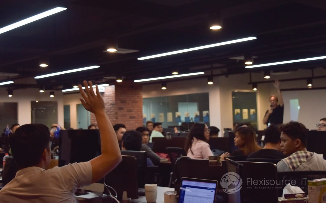 Reactors and Enthusiasts Attend First-Ever Flexisource IT ReactJS Meetup 2019