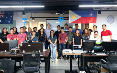 Flexi Team Learns About Lean Canvas in Flexisource IT Hackathon 2019