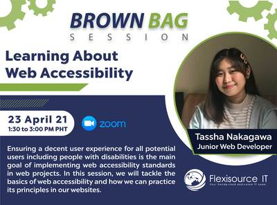 13 Brown Bag Session Web Accessibility