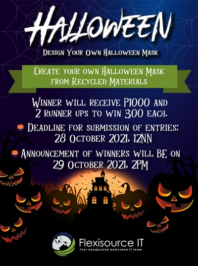 Design Your Own Halloween Mask